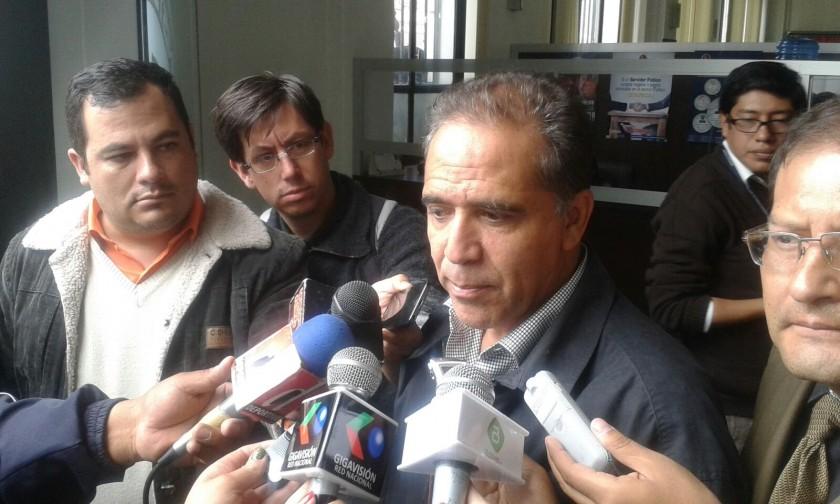 Mauricio Méndez declaró primero el jueves ante la Fiscalía. Foto: Gentileza FGE