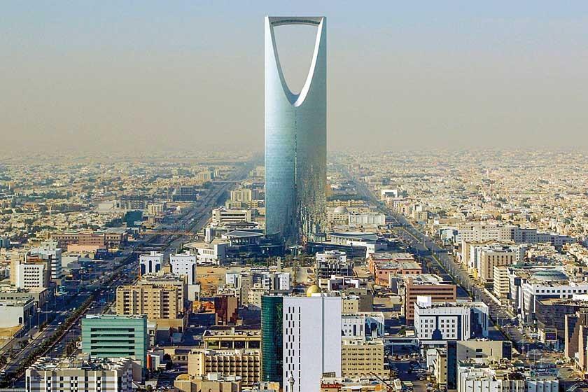 El Kingdom Centre, en Riad, el rascacielos más alto de Arabia Saudita. Mide 302 metros y es el número 37 más alto