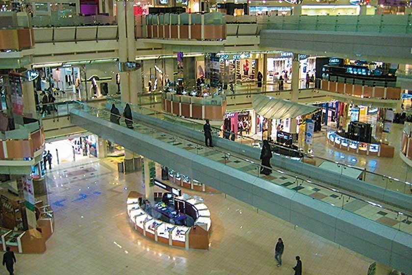 El Mall Mamlaka está ubicado en la planta inferior del Kingdom Centre de la ciudad de Riad, en Arabia Saudita.