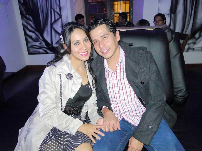 Nadid Linares y Luís Ibarra.