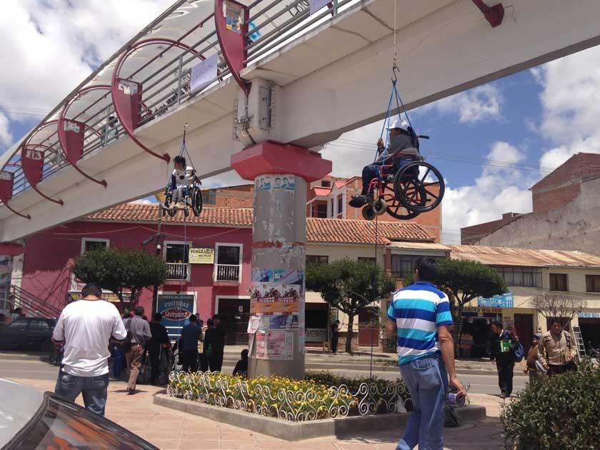 Discapacitados se radicalizan en Sucre