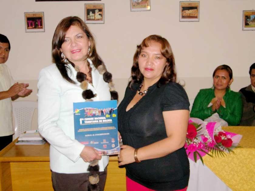 Felisa Aireyu y Margot Rodríguez.