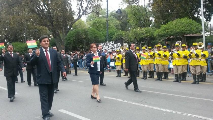 Las instituciones formaron parte del homenaje al Día del Mar. Foto: Dayana Martínez