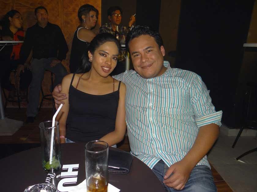 Carmen Fenández y Andres Dávalos.