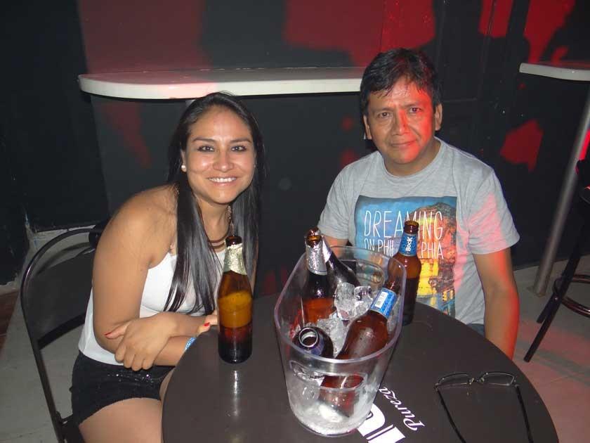 Margot Torres y Oscar Orellana.