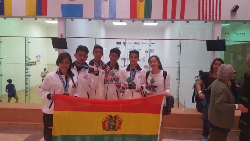 Parte de la delegación boliviana en México. Foto: Gentileza