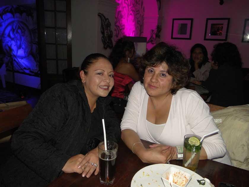 Fabiola Inchausti e Inés Caballero.