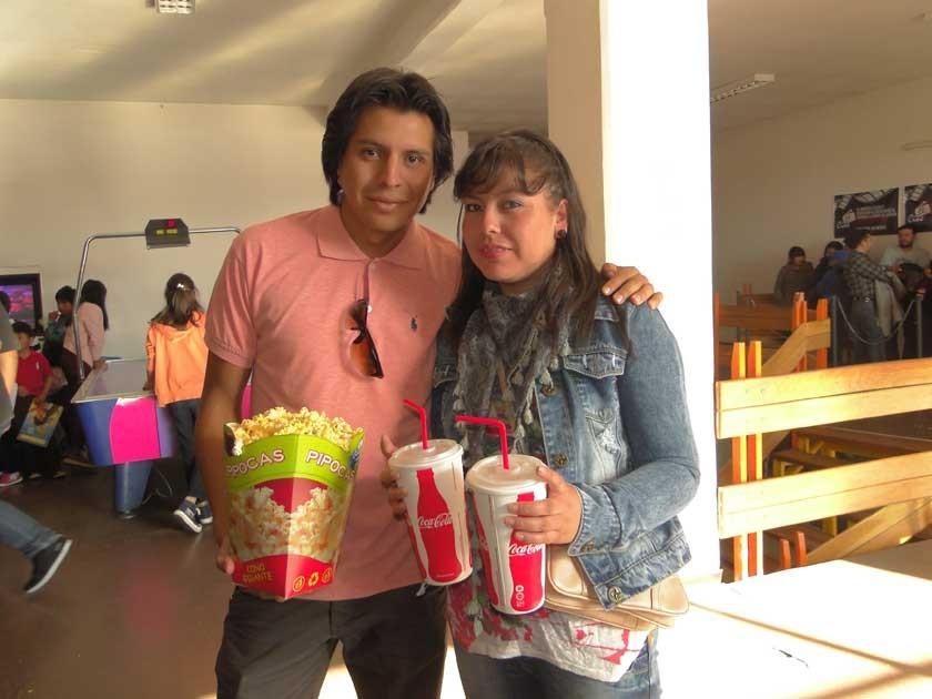Rodrigo y Pamela.