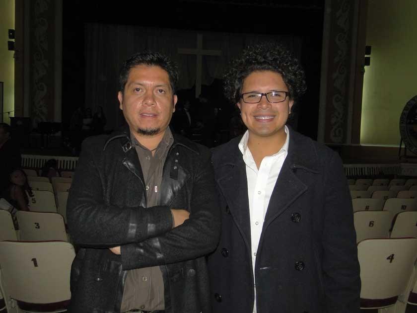 Álvaro Monrroy y Gustavo Orihuela.