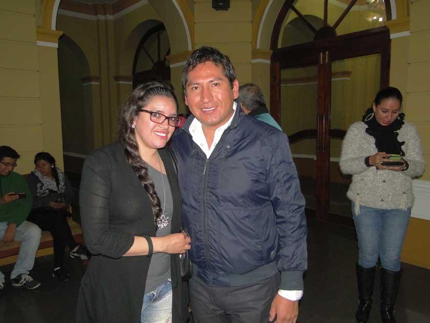 Russel Velásquez e Iván Cortez.