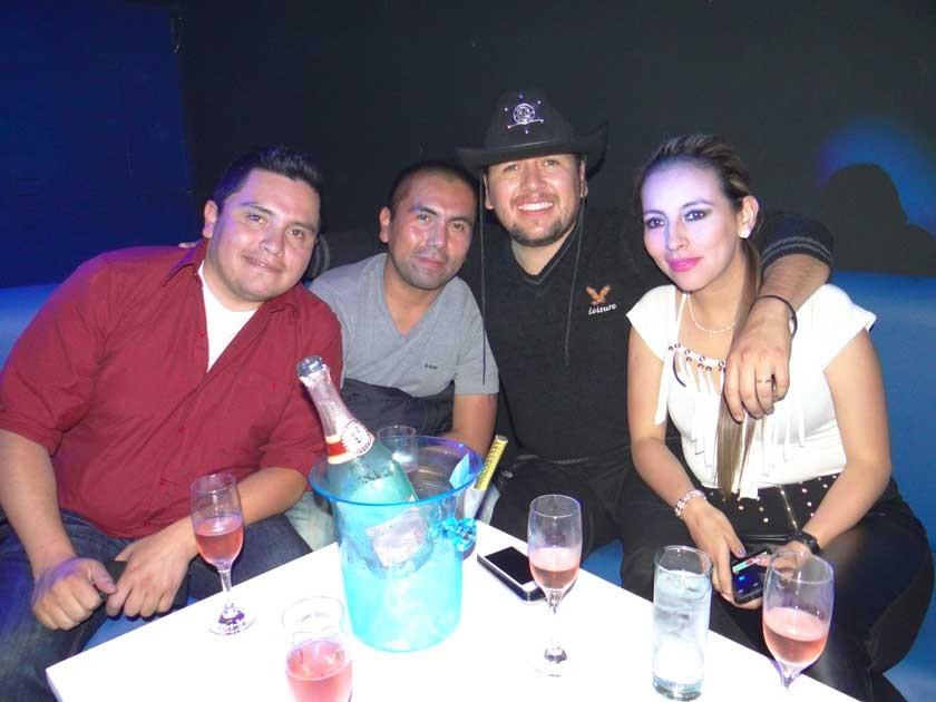 Pepe Vásquez, Carlos Barrios, Freddy García y Mónica Mercado.