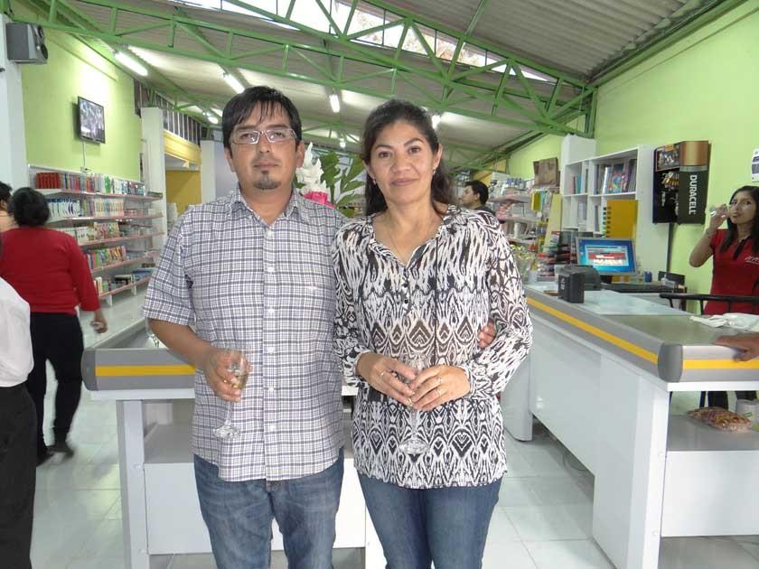 Felix Llanquipacha  e Irma Arancibia.