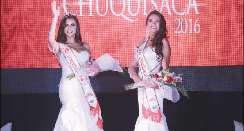 Miss Chuquisaca corona a sus soberanas