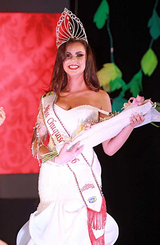 Miss Chuquisaca, Camila Andrade.