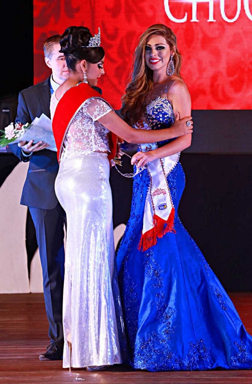 Miss Capital Marcela García.