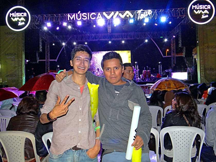 César Gutiérrez y Mario Ponce.
