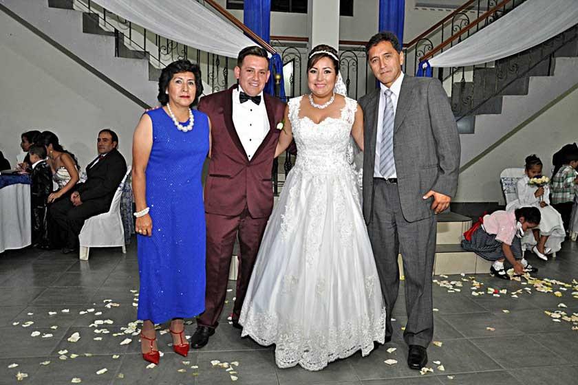 Zaida Torres, Mario Torres, Mayda Torres y Edmundo Torres.