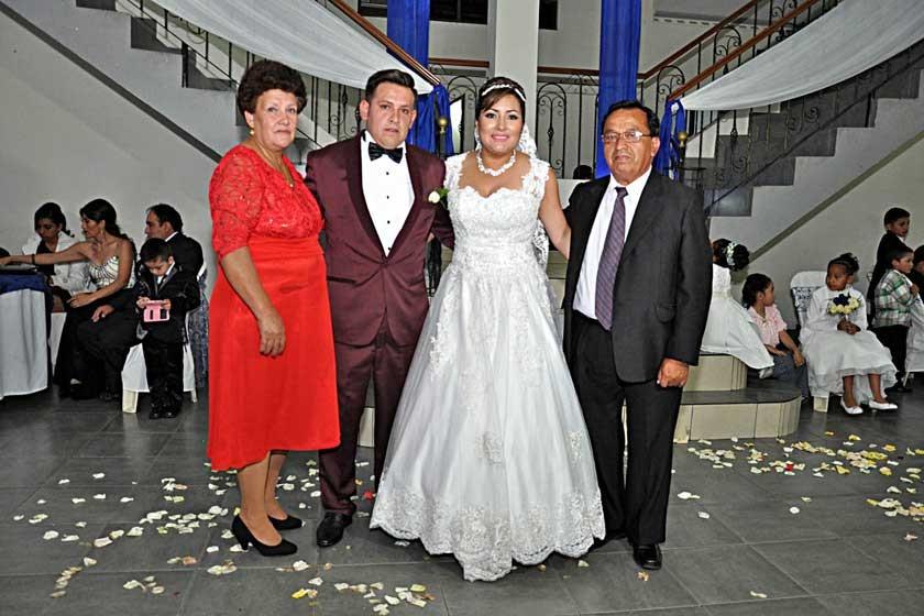 Delia Canedo, Mario Torres, Mayda López y Jaime Torres.
