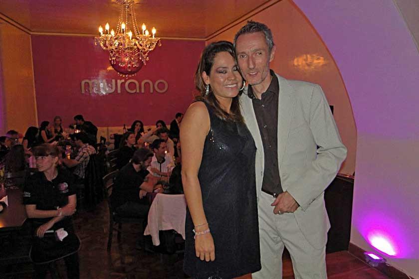 Carla Villafani  y Xavier Fourrel de Frettes