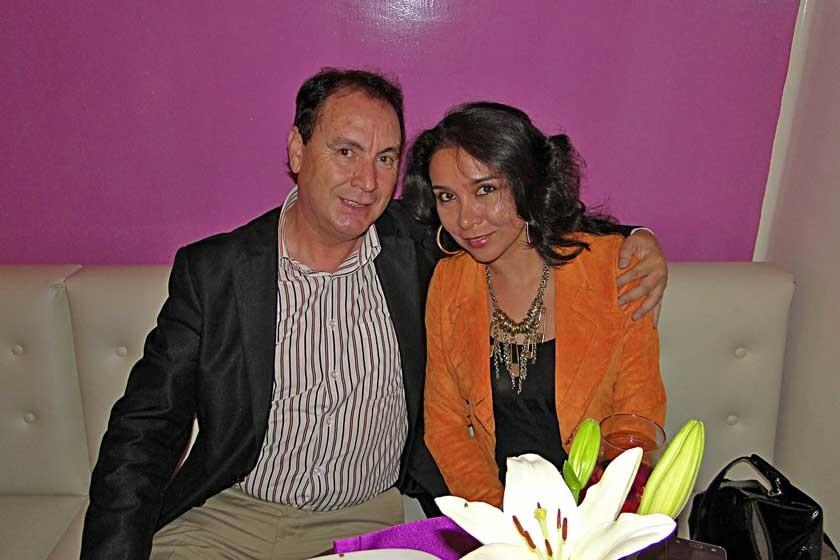 Dayler Andrade y Soledad Peñafiel.