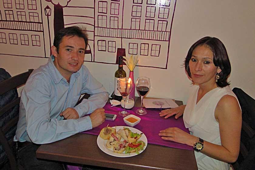 Lorenzo Catalá y Mariela Miranda.