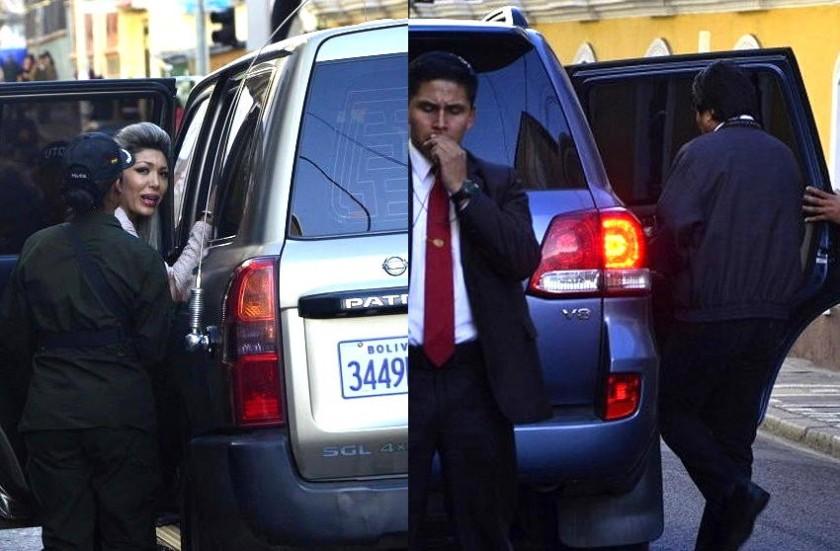 Zapata y Morales acudieron este lunes a las oficinas del IDIF. Fotos: AFKA