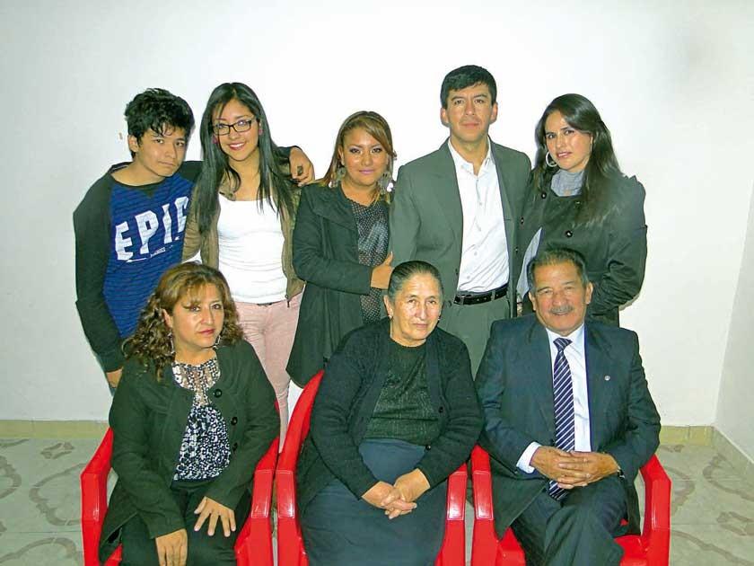 Familia Murillo Vargas, descendientes de Víctor Murillo  y Cristina Vargas.