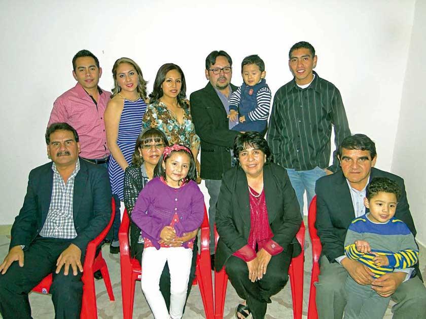 Familia Murillo Avilés, descendientes De Humberto Murillo y Lucia Avilés.