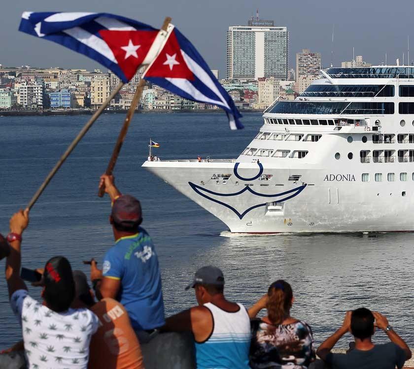 Primer crucero Miami-La Habana