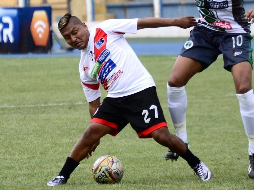 Ronald Gallegos marcó el segundo gol de Nacional Potosí. Foto: MR/Archivo