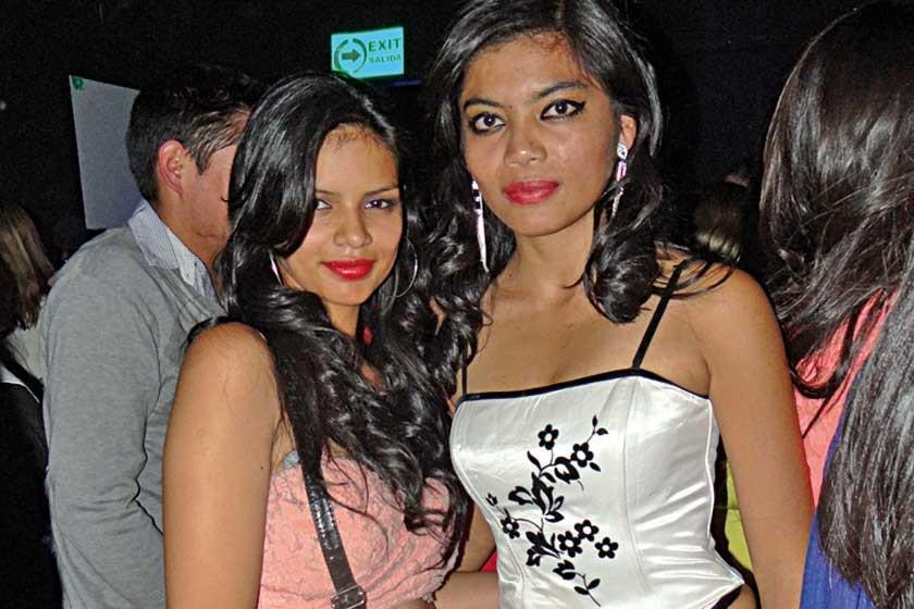 Mariela Romero y Paola Salazar.