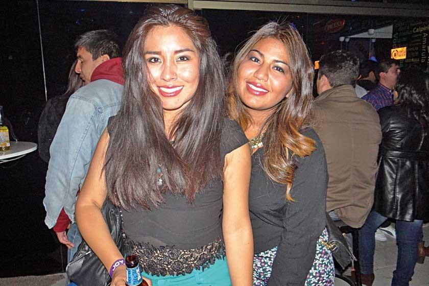 Graciela Márquez y Renata Bustamante.