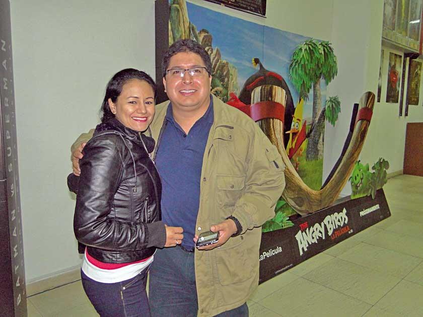Yuvinka Arandia y Ricardo Morales.