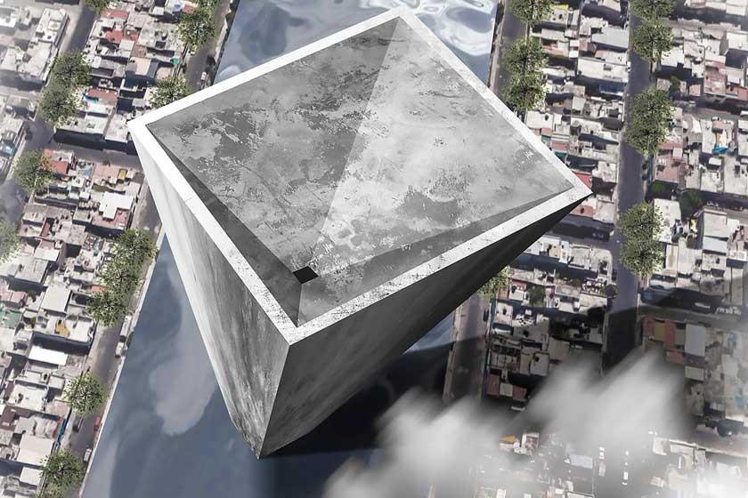 La propuesta 'Neza York Towers', de los mexicanos Israel López, Gabriel Mendoza, Ana Saraí y Yayo Melgoza.