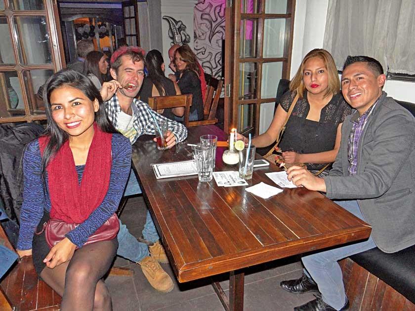 Mileza, Etienx, Gabriela y Zadin.