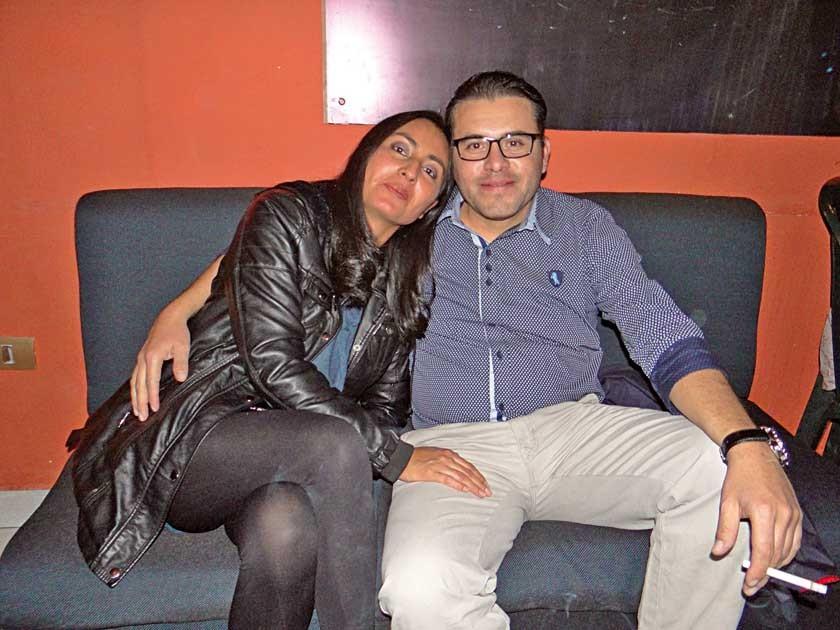 Cristina Medina y Bladimir Castro, celebraron sus 16 años de matrimonio.