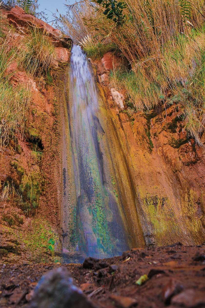 Cascada de Chosconty. Un rincón hermoso de la creación.