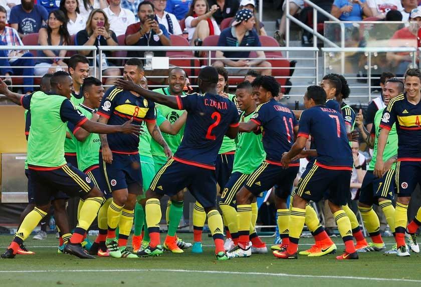 Golpe colombiano abre la Copa América