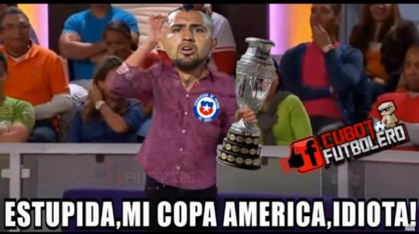 Varios memes del partido Chile-Bolivia se compartieron en las redes sociales. FOTOS: Internet
