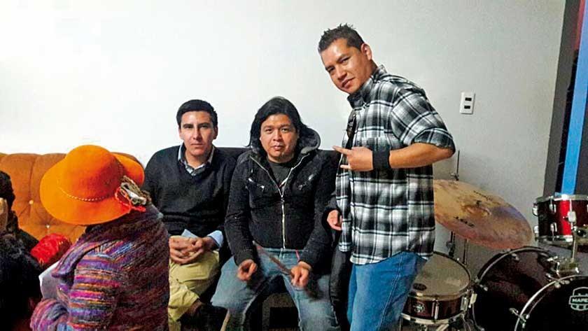 """Jairo, Chyto, Jhosep grupo: """"Los Tecuas""""."""