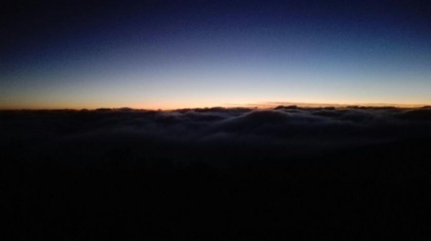 El amanecer en Poroma. FOTO: Gentileza AMDECH