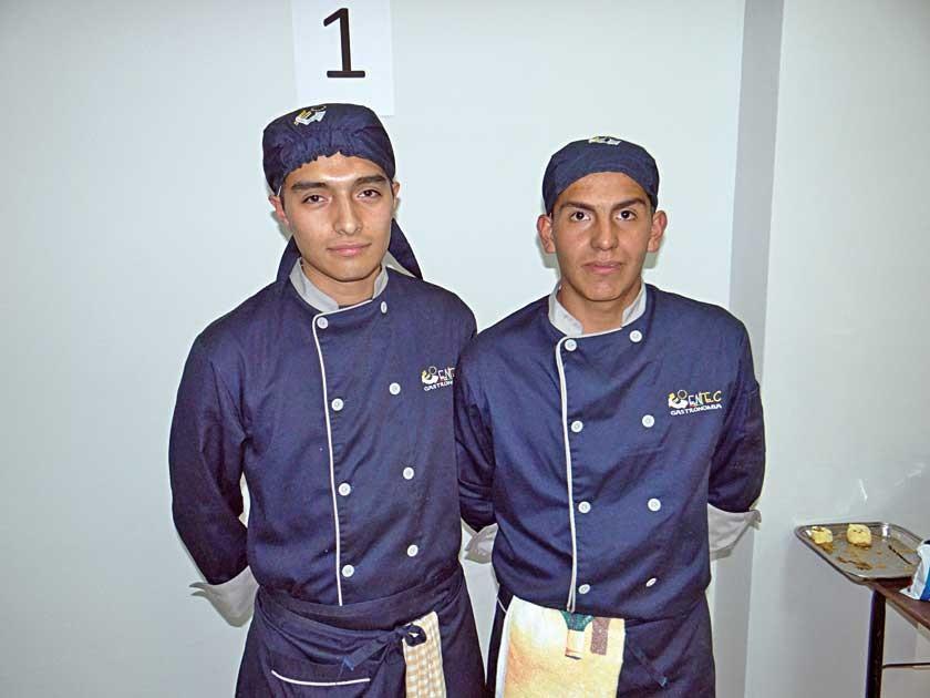 Giovanni y Herland Salazar.