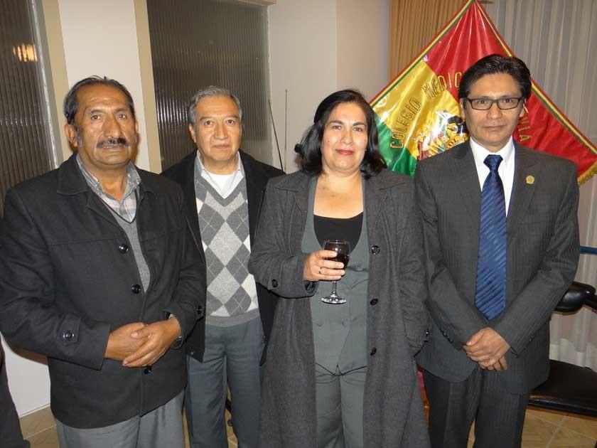Alfonso Dávila, Miguel Herrera, Sandra Campero y David Gardeazabal.