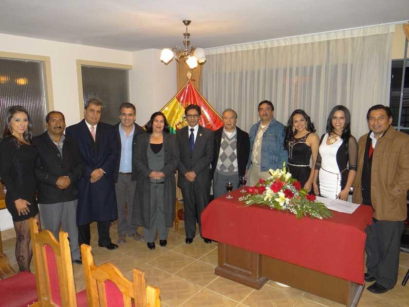 Sociedad de Neurocirugía de Sucre e invitados.