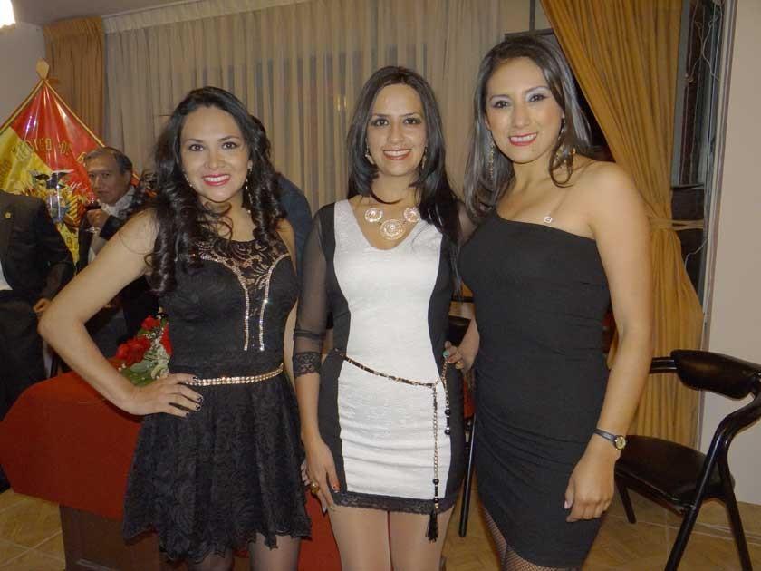 Consuelo Rodríguez, Valeria Orsolini y Karina Ibáñez.