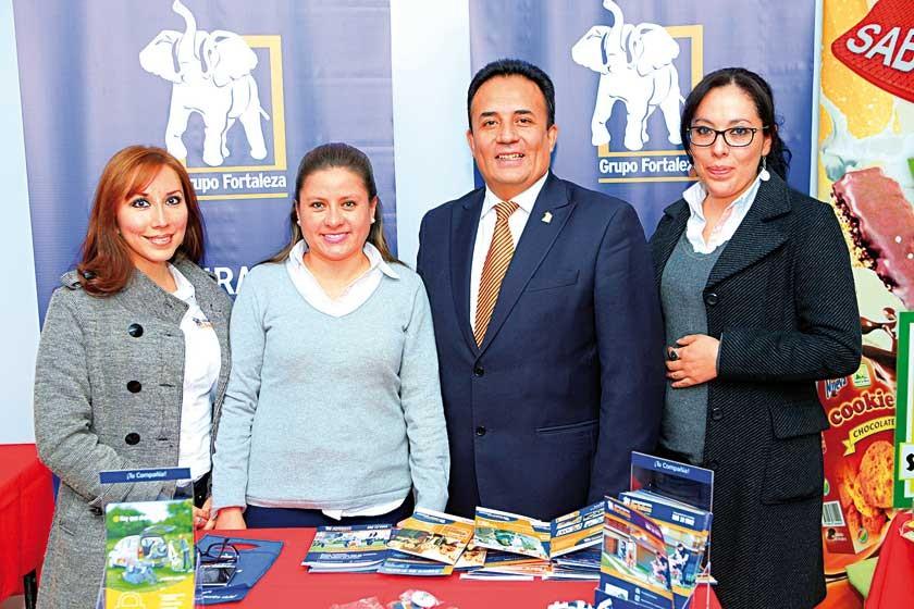 Valeria Flores, Patricia Jiménez, Boris Valda y Claudia Salgueiro.