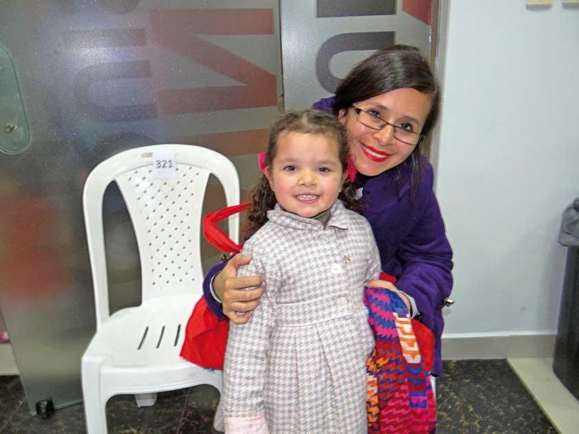 Beatríz Taboada y Fabiola Prudencio.