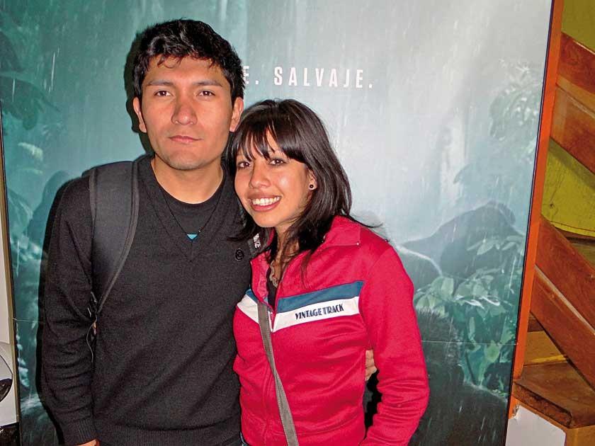 Ariel Ávila y Mayra Burgos.