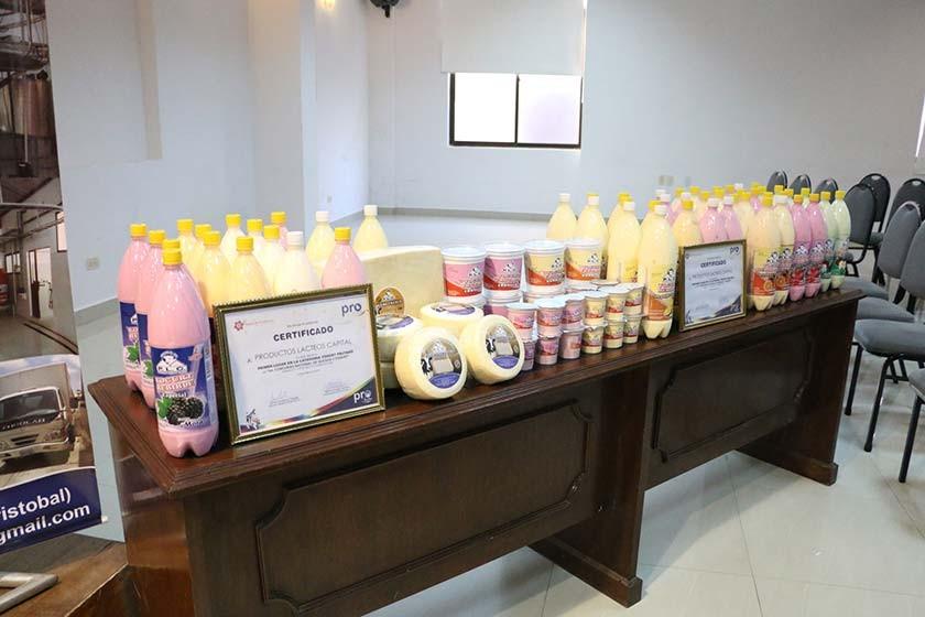 La empresa Productos Lácteos Capital actualmente acopia 3.000 litros de leche diarios.