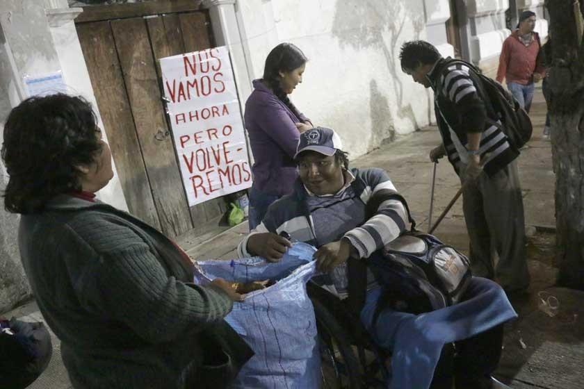 Los discapacitados no descartan volver